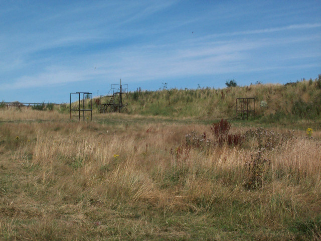 Clay Pigeon Shooting range on Otley Chevin