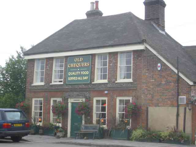 Old Chequers Pub on Gaddesden Row