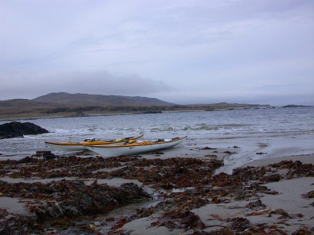 North end of Shian bay, West coast of Jura