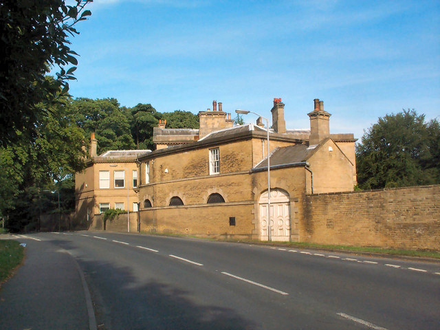 Former estate buildings, Park Road, Guiseley