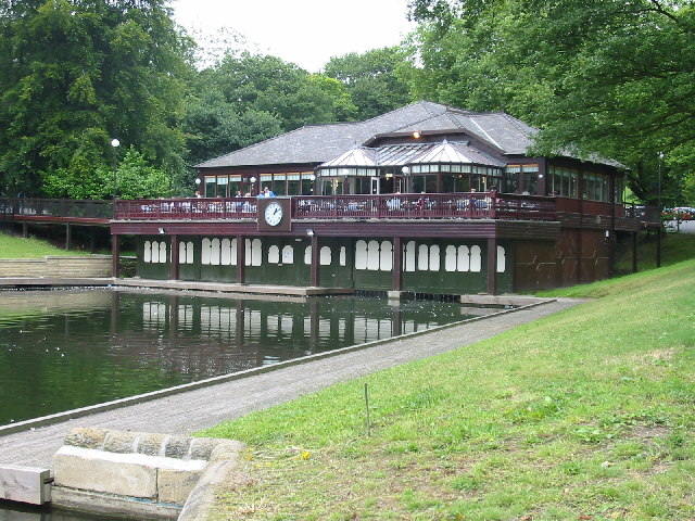 The Lakeside Restaurant,Waterloo Lake, Roundhay Park, Leeds.