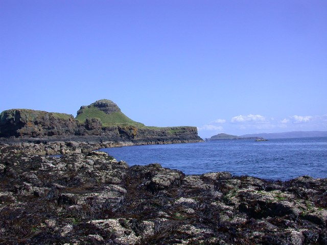 Bac Mor, the Dutchman's cap, on the Treshnish Isles