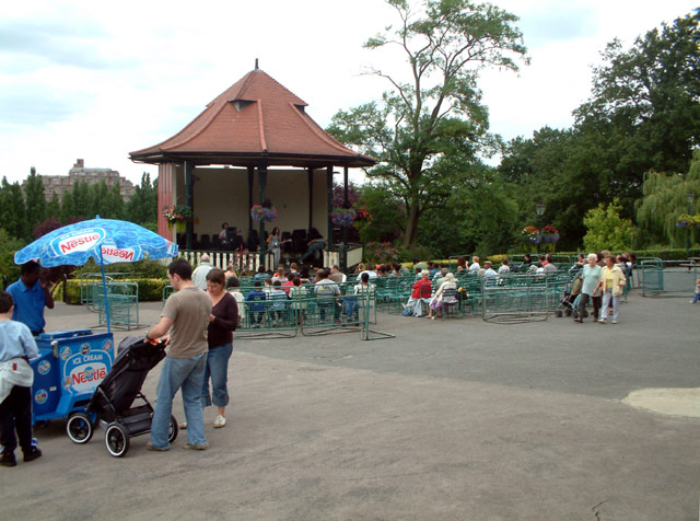 Bandstand at the Horniman Museum SE23
