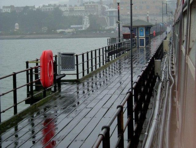 A Soaking Southend Pier