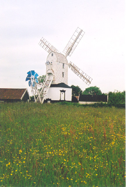 Post Mill, Nr. Saxtead Green, Suffolk