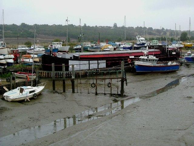 Leigh Boatyard