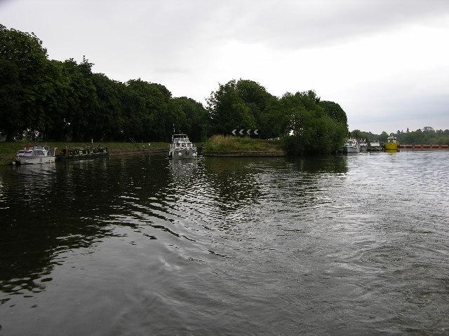 River Ouse at Naburn Lock