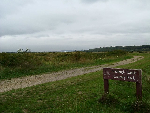 Footpath Through Hadleigh Marsh