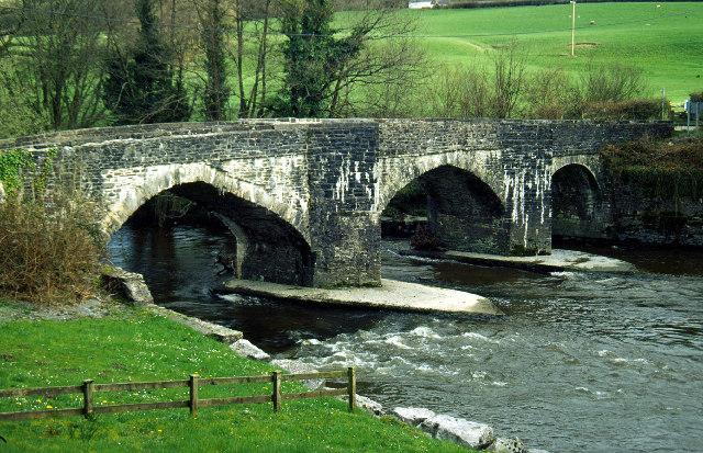 Afon Cothi, Abergorlech