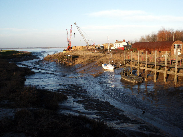 Low Tide - Barrow Haven