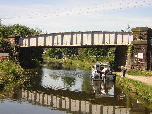 Railway Bridge, Dockfield Road, Shipley