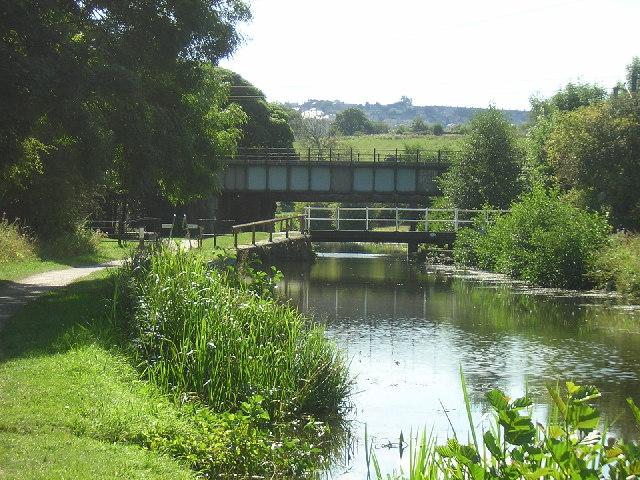 Idle Swing Bridge and Railway Bridge