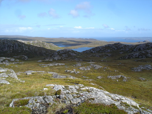View to Loch na Curra