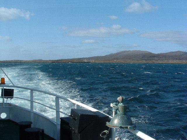 Leaving Barra