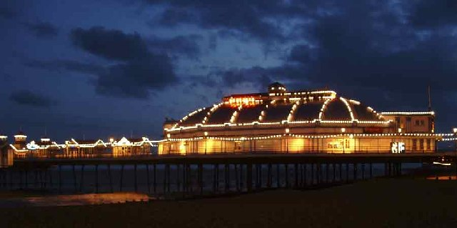 Eastbourne Pier at Night