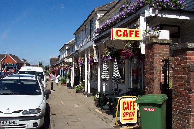 Shops in Hawkhurst, Kent