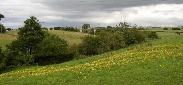 Fields from Jay House Lane, Clifton
