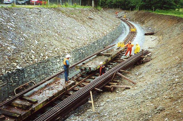 Welsh Highland Railway: near Dinas