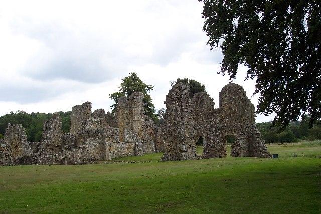 Bayham Abbey, near Lamberhurst, Kent