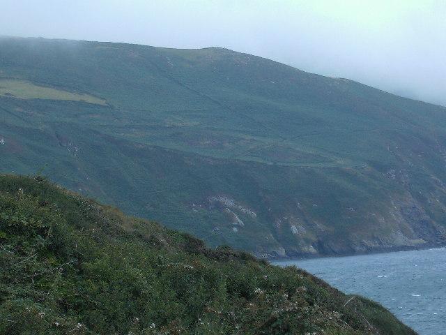 Keill on the western slopes of Cronk ny Arrey Laa