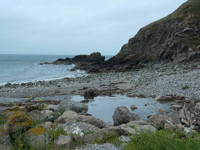 The Beach at Glen Maye, Isle of Man