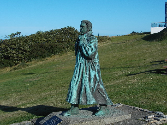 Statue of Sir William Hillary, founder of RNLI