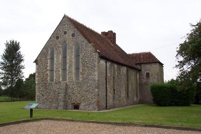 St John's Commandery, near Densole, Kent