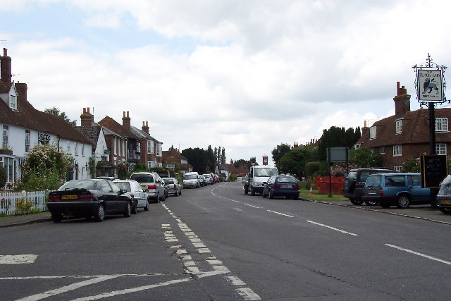 The main street, Appledore, Kent