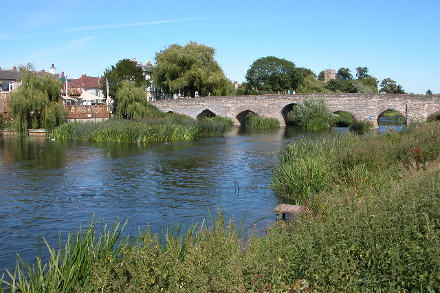 Bidford Bridge at Bidford on Avon