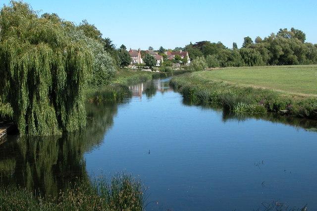 River Avon at Bidford on Avon
