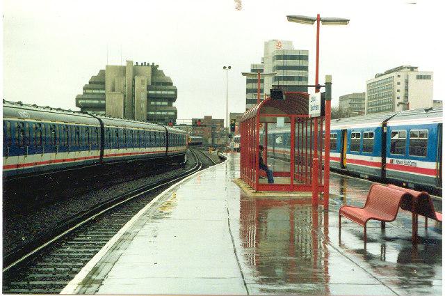 London Blackfriars Station.