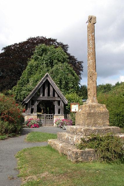 The Cross and Lychgate, Ashton-Under-Hill