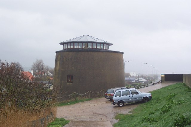 Martello Tower near Dymchurch, Kent