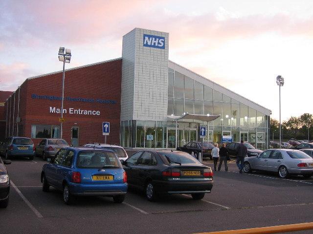 Heartlands Hospital, Bordesley Green