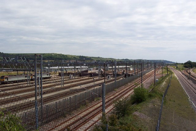 Dollands Moor Freight Terminal