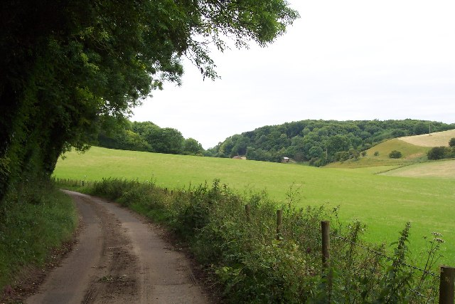 Downland Scene near Lydden, Kent