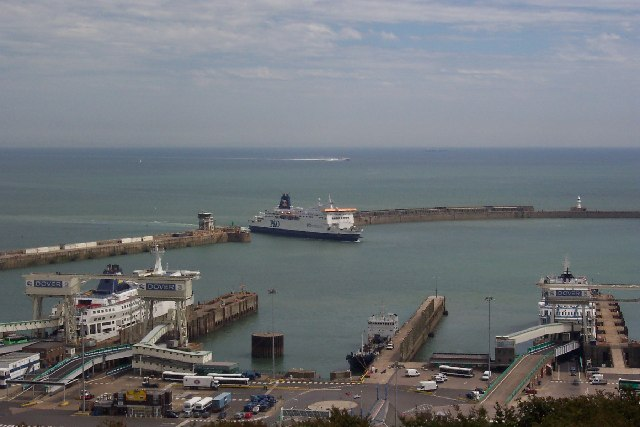 Dover Harbour and breakwater