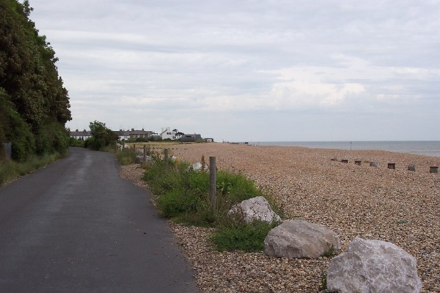 The beach at Kingsdown, Kent