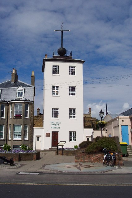 The Time Ball Tower, Deal, Kent