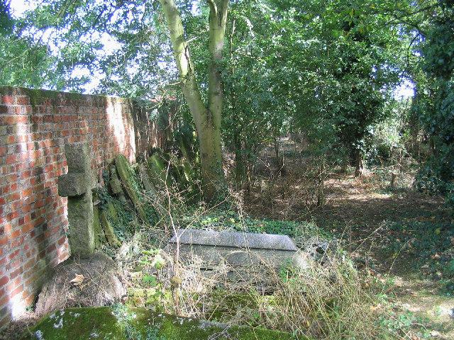 Derelict Graveyard, Great Warley, Essex
