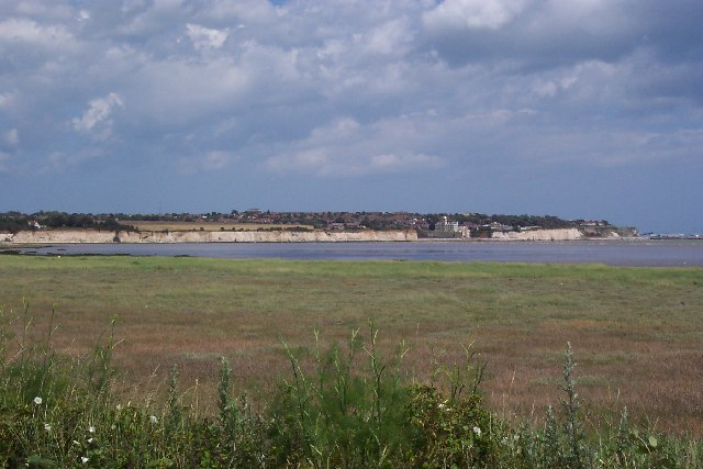 Pegwell Bay, Kent, looking towards Ramsgate