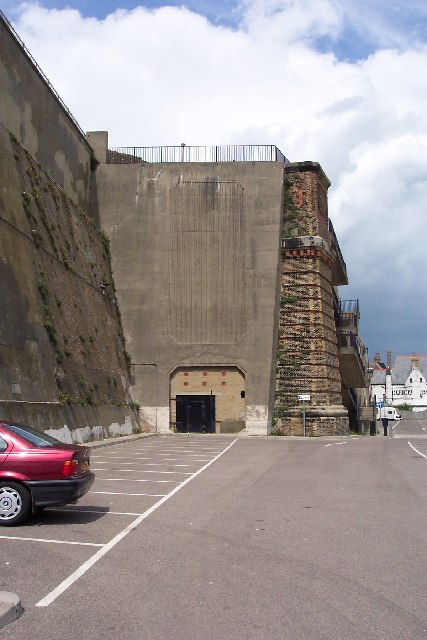 Disused railway tunnel at Ramsgate Harbour, Kent
