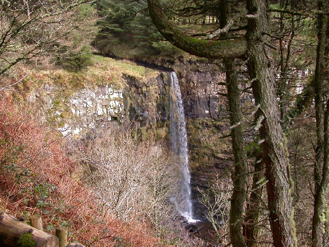 Eas Mor Waterfall, Arran