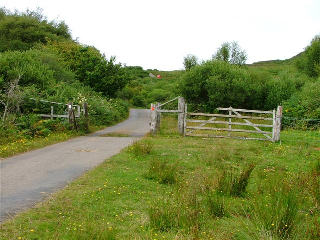 Cattle Grid on the Cleadale Road