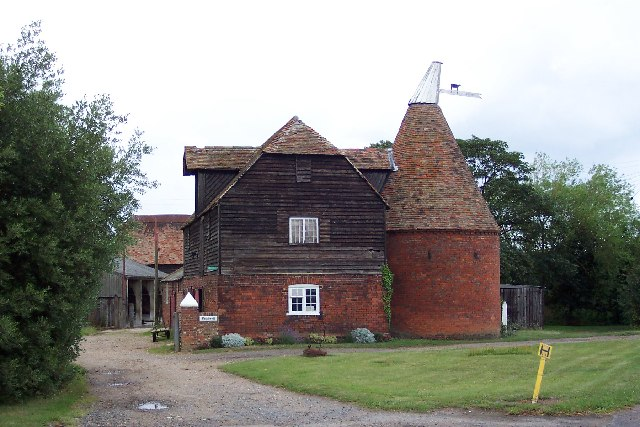 Oast House near Sturry, Kent