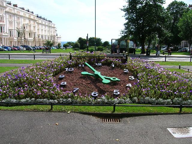 Floral Clock, Palmeira Square, Hove