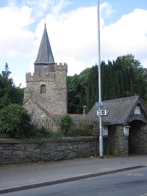 Church, Llangurig