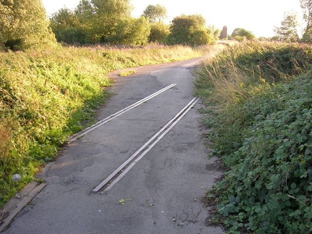 Trace of old  railway.
