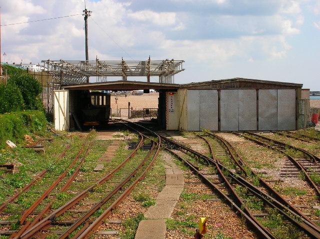 Volks Railway, Brighton beach.