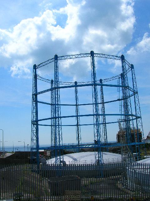 Gas holder, Black Rock, Brighton